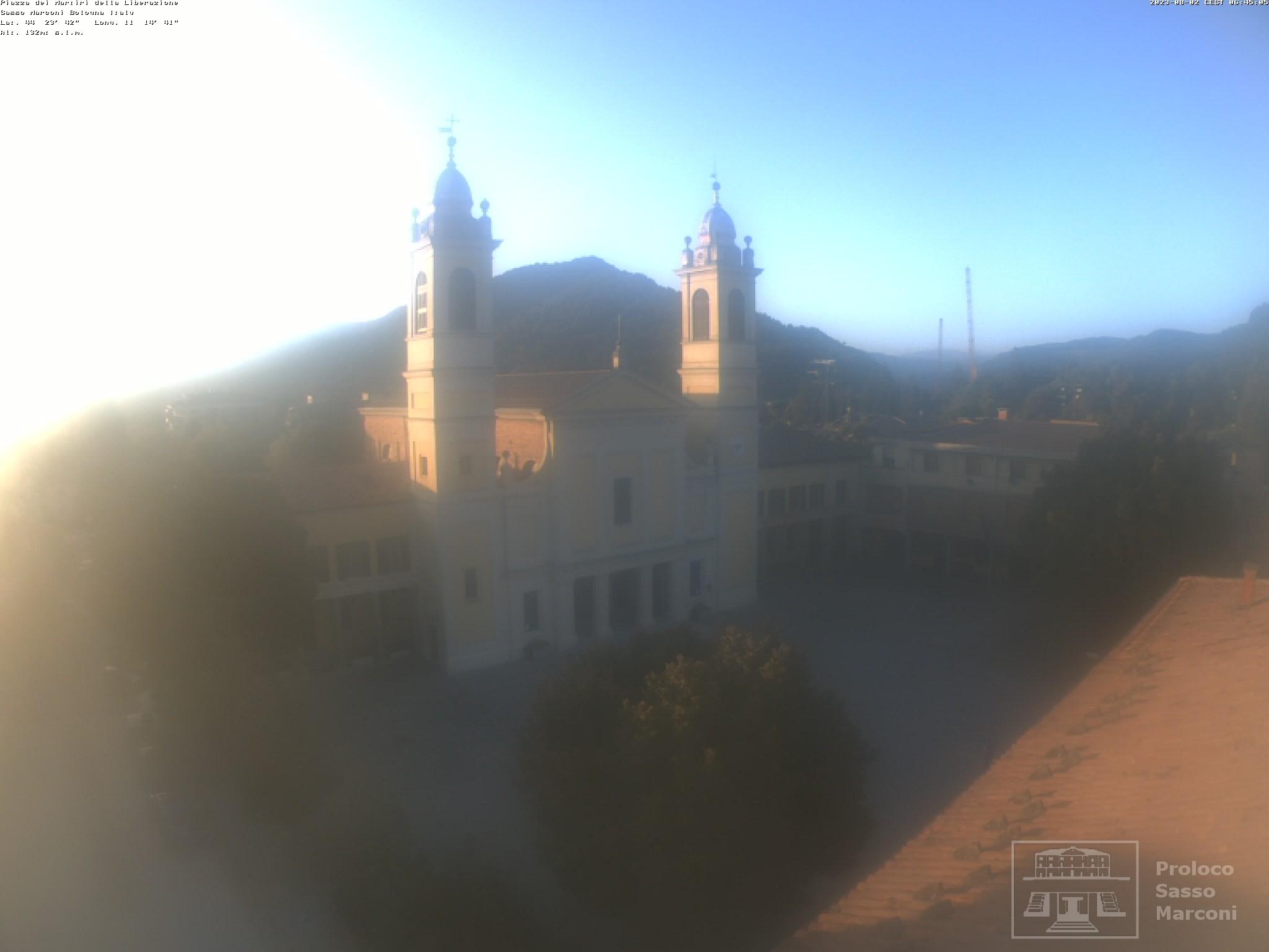Webcam sasso marconi bo piazza dei martiri della - Reno immobiliare sasso marconi bo ...
