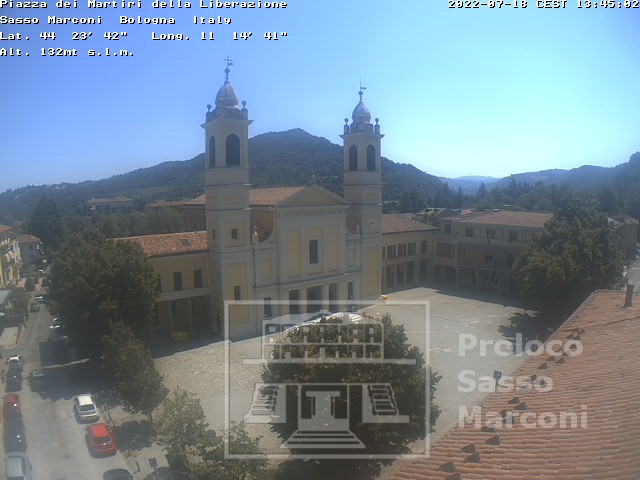 Webcam sasso marconi live 3b meteo for Diretta camera